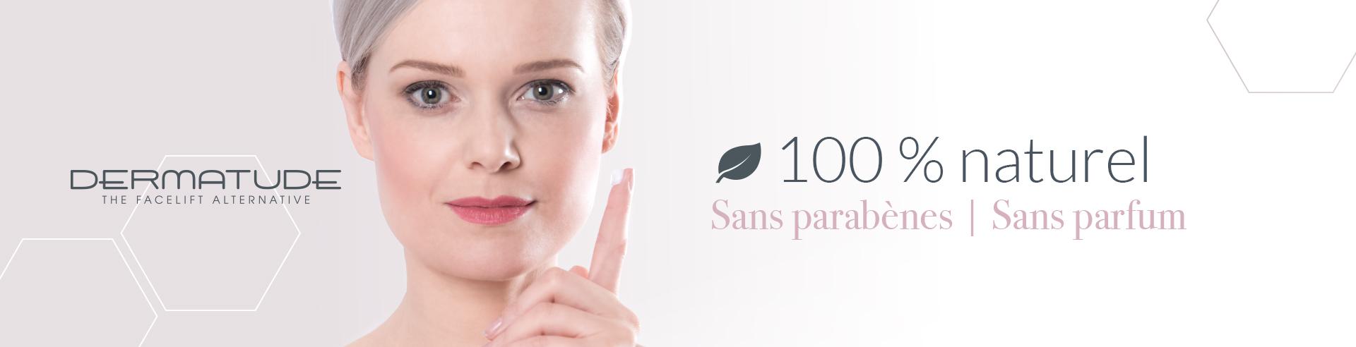 Dermatude Webbanner 100 Natural 2 1900x492 - FR
